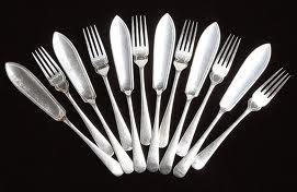 Серебрение изделий