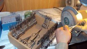 Заточка парикмахерских и маникюрных инструментов для салонов красоты