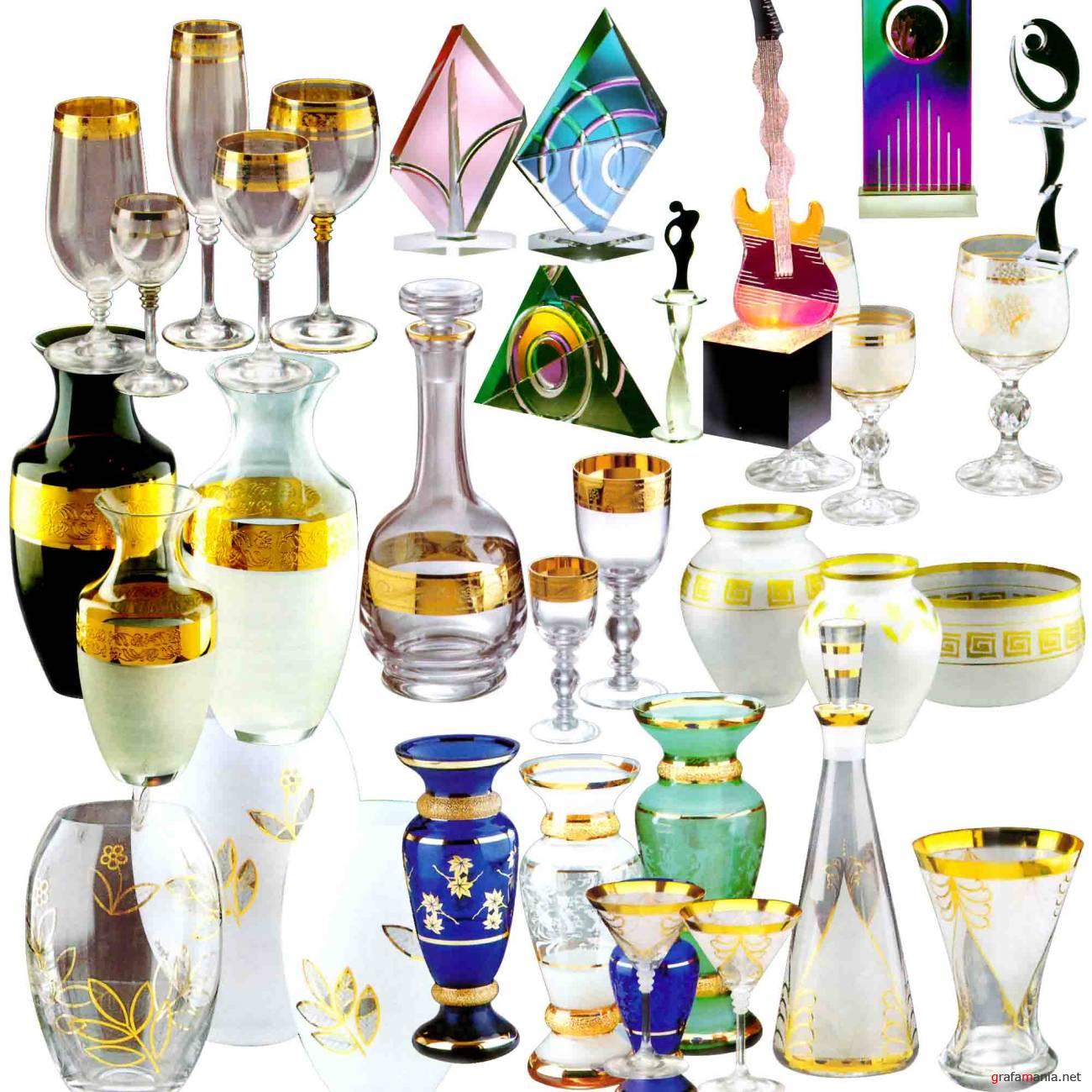 Склейка стеклянной посуды и других изделий из стекла в Москве