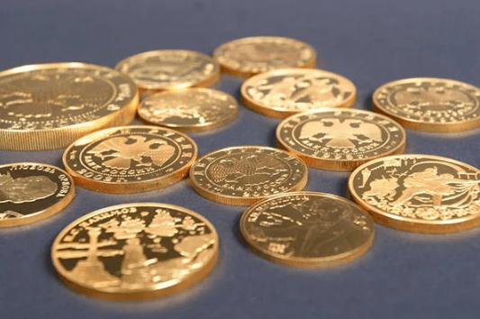 Золочение монет в Москве