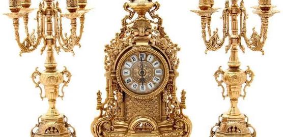 Ремонт каминных часов