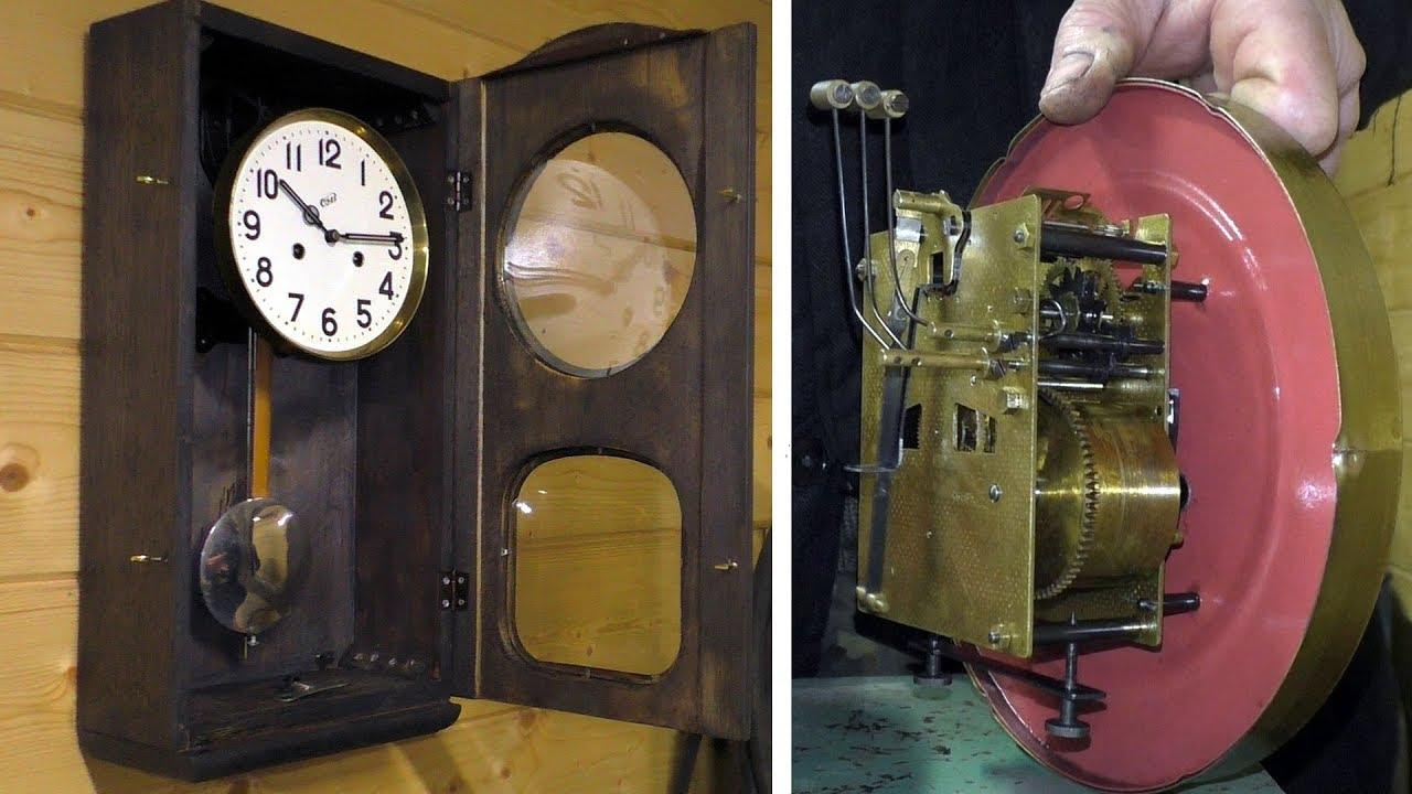 Ремонт часов с маятником в Москве