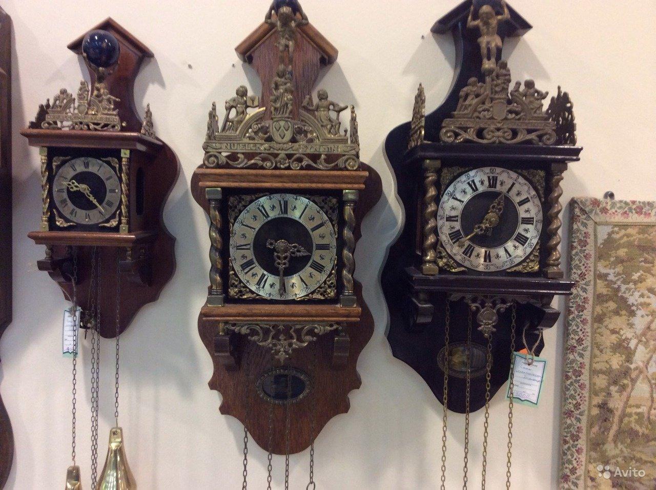 Ремонт антикварных часов в Москве