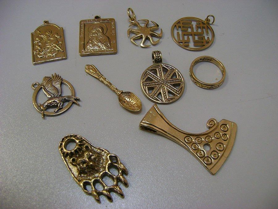 Золочение ювелирных украшений и бижутерии